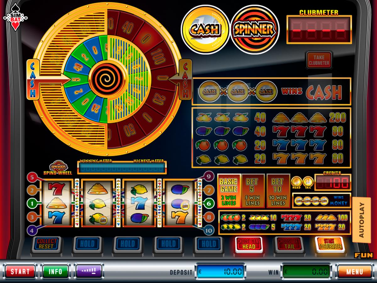 cash spinner simbat